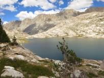 Above Sapphire Lake