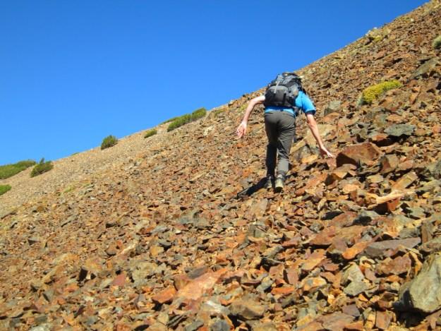 Michael Climbing