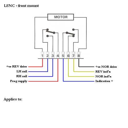 atlas switch machine wiring