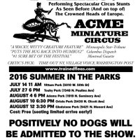 Flea Circus in Chicago Parks This Summer