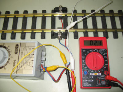Using an Inexpensive Meter to Troubleshoot  Test Trains
