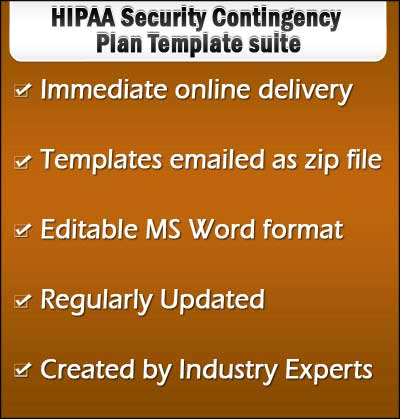 HIPAA Contingency Plan