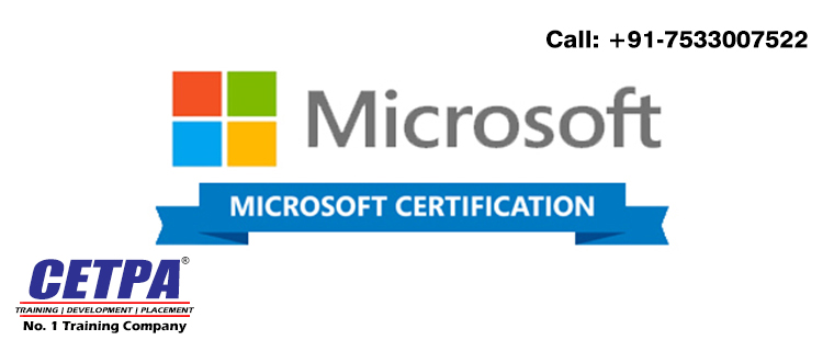 Get Best Microsoft certification training in Dehradun from Cetpa - certificate microsoft