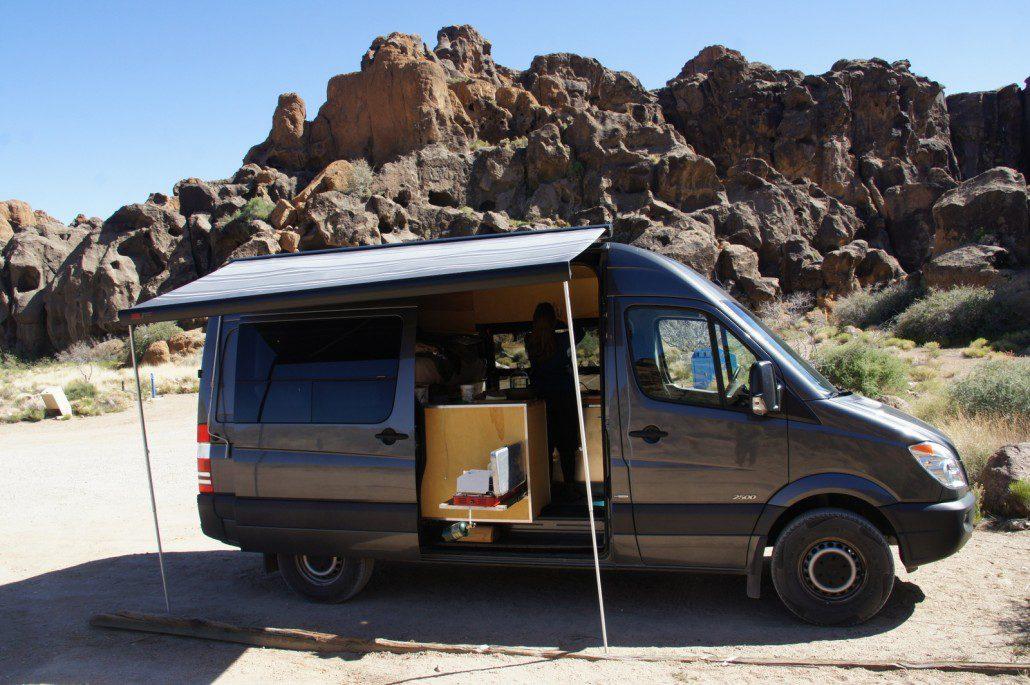 The Adventure Mobile - Our DIY Sprinter Camper Van Bicycle Hauler