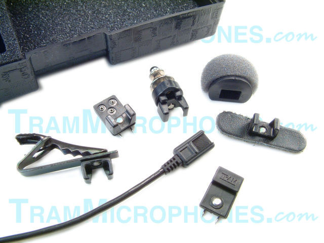 TRAM Lavalier Microphones and Tram Mic Clips TramMicrophones
