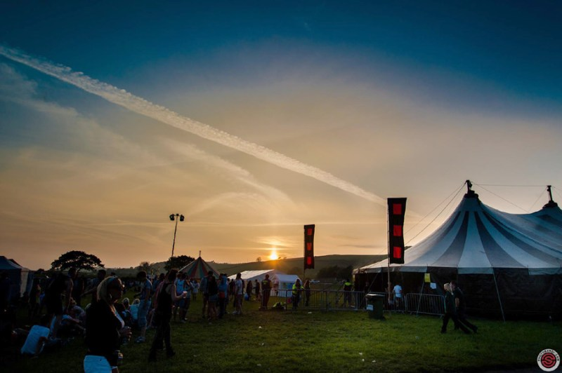 Sunset at the Together Festival