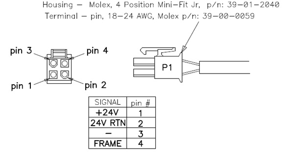 Molex 4 Pin Diagram - Wiring Data schematic