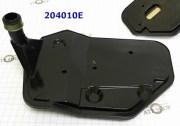- (204010E) - Фильтр, 4L65E (глубокий поддон) низкий из пластика {Hammer H3, 2006-Up}{Colorado & Canyon 4WD 2004-Up},