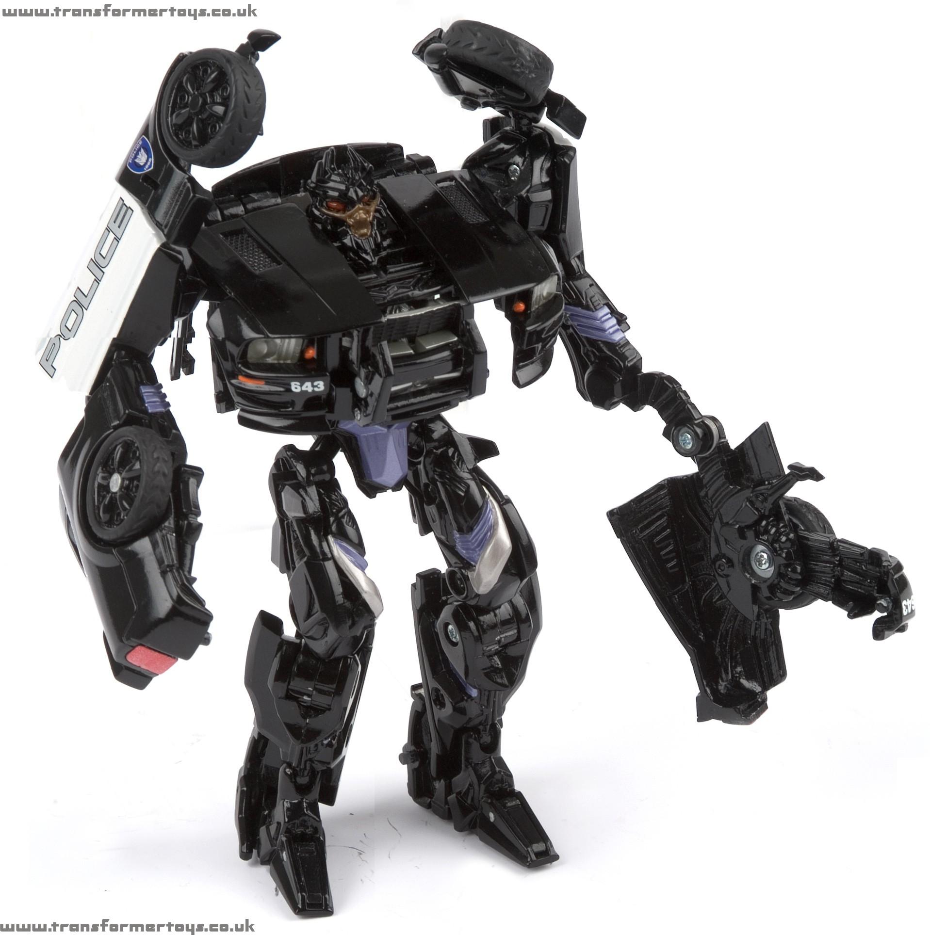 Barricade Transformer Toy Movie