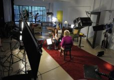 On The Set of 20/20 - Barbara Walters interviews Jazz.