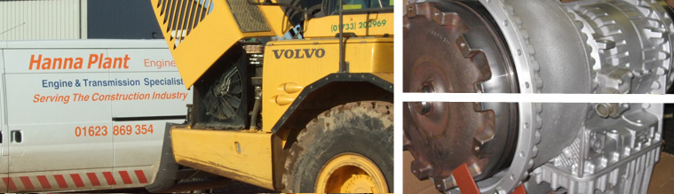 Volvo A25, A30, A35 and A40 Transmissions - Hanna Plant Engineering
