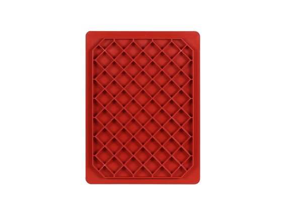 Plastic Case 400 X 300 X H 335 Mm Red Stacking Bin