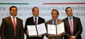 Conagua y Aeroméxico firman convenio para transmitir datos meteorológicos