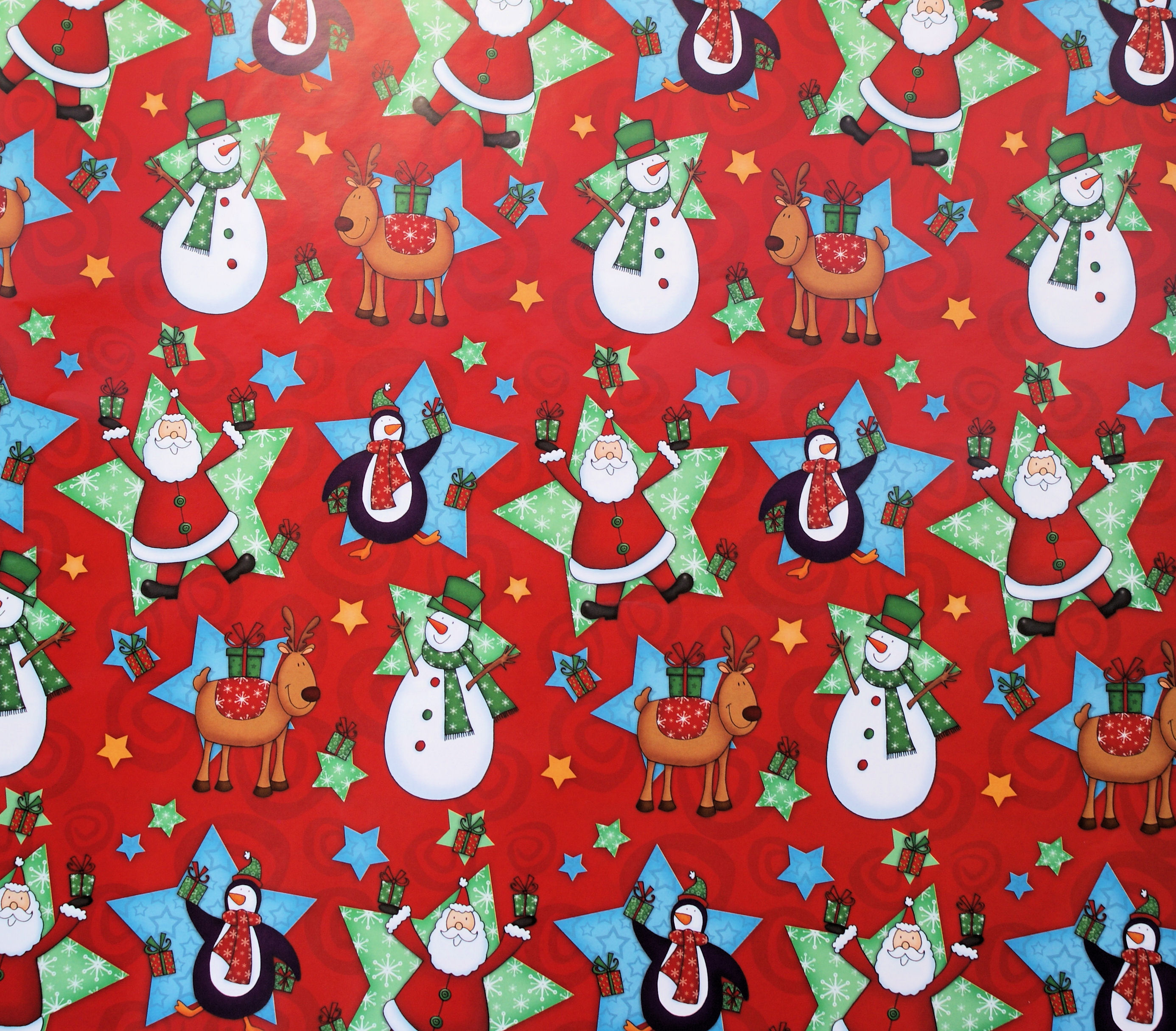 Cute Penguin Wallpaper Hd Wrapping Paper
