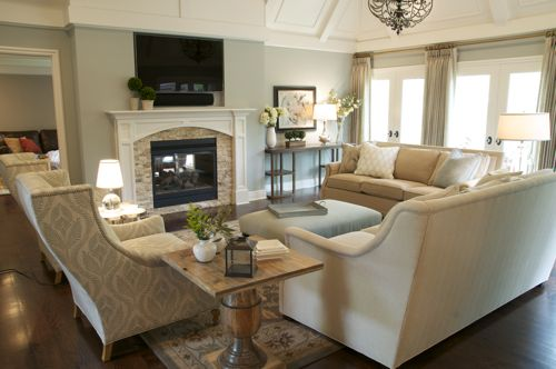 """Award Winning Living Room, """"Before"""" and """"After"""""""