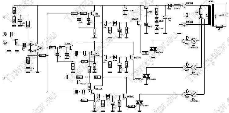 art t8 bedradings schema