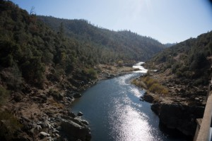 Some of the course views of the American River.