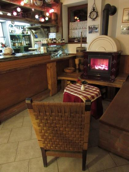 Un bar accogliente