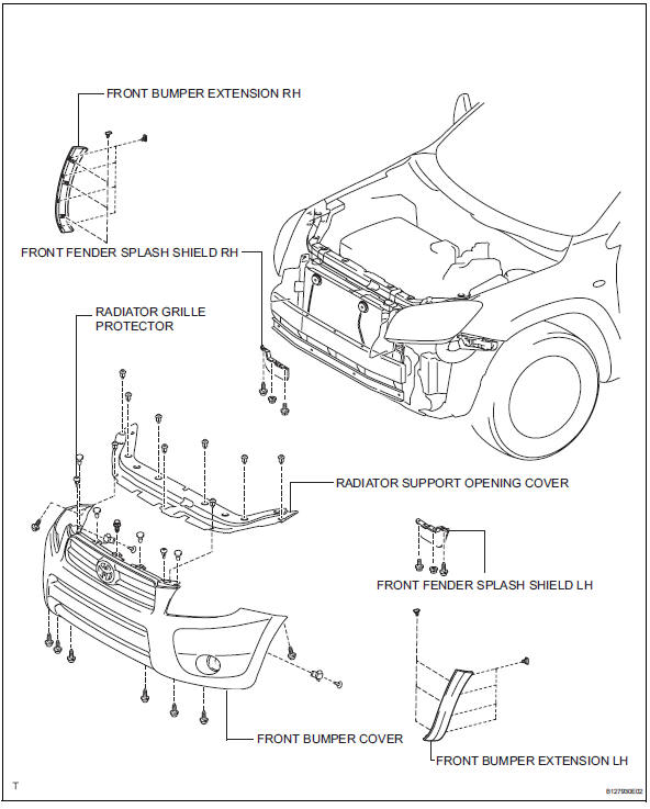 Toyota RAV4 Service Manual Condenser - Air conditioning