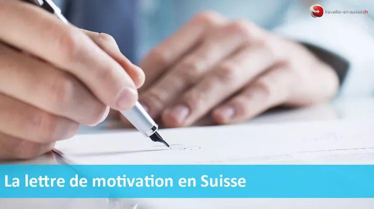 travailler en suisse emploi suisse dossier candidature cv suisse