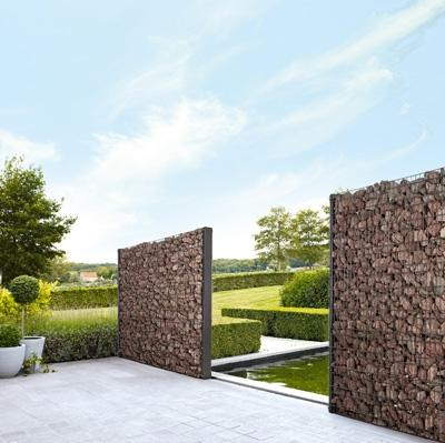 Gabion House Interesting material and structure Pinterest - prix construire sa maison