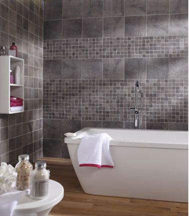 Nouveau carrelage de salle de bains nouvelle déco ! Travaux