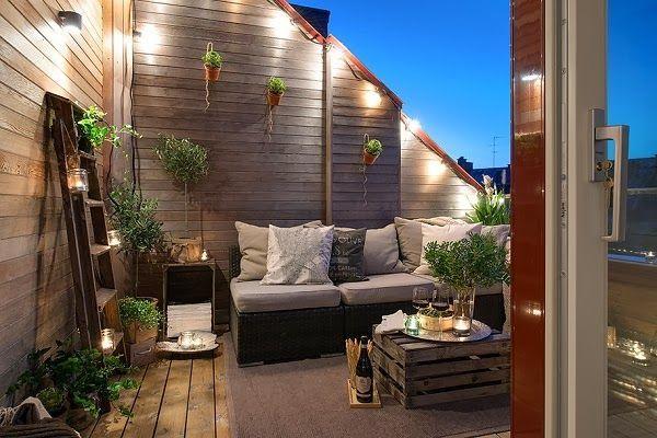 Amenager Une Terrasse Design Sans Perdre De Place