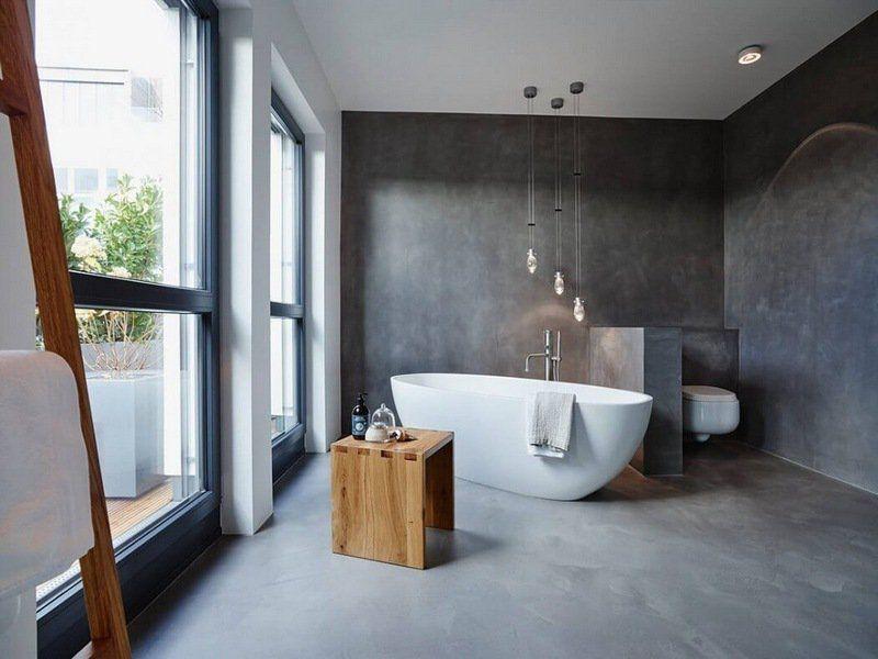 Salle de bains  quel revêtement choisir ? Travaux