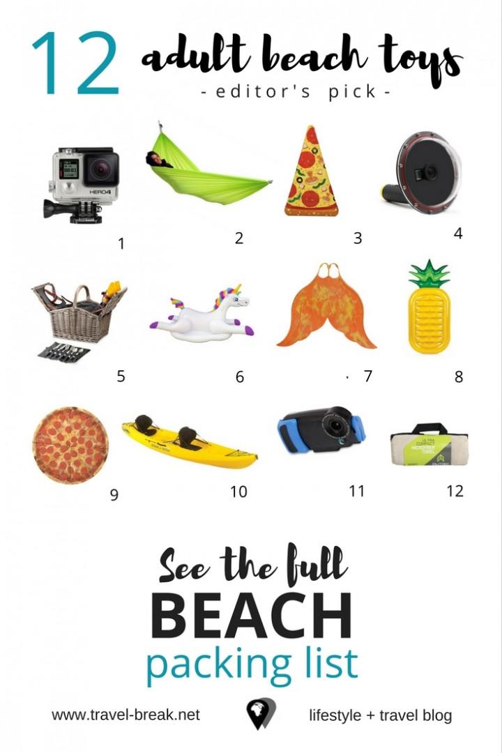 The Ultimate Beach Vacation Checklist (Men) \u2022 TravelBreak