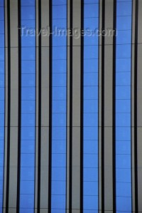 Chicago, Illinois, USA: vertical lines give this ...