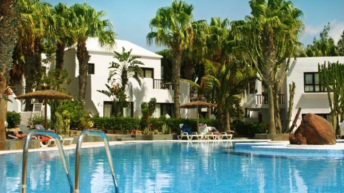 Außenanlage Surfschule Costa Calma