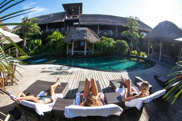 Surfunterkunft der Extraklasse in Bali