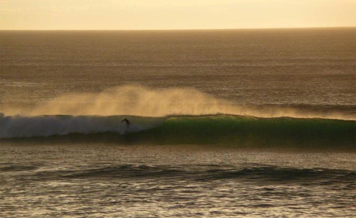 Wellenreiten Frankreich Moliets Plage