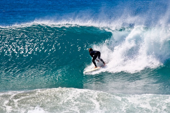 Tolle Wellen zum Surfen in Fuerteventura