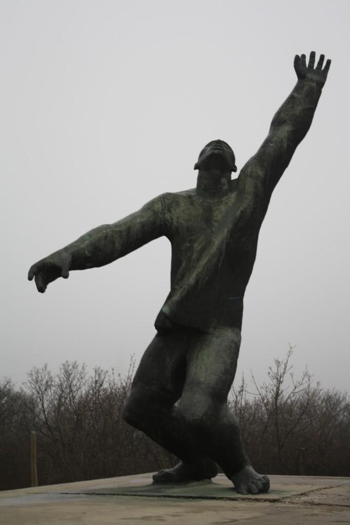 Memento Park Statue 4