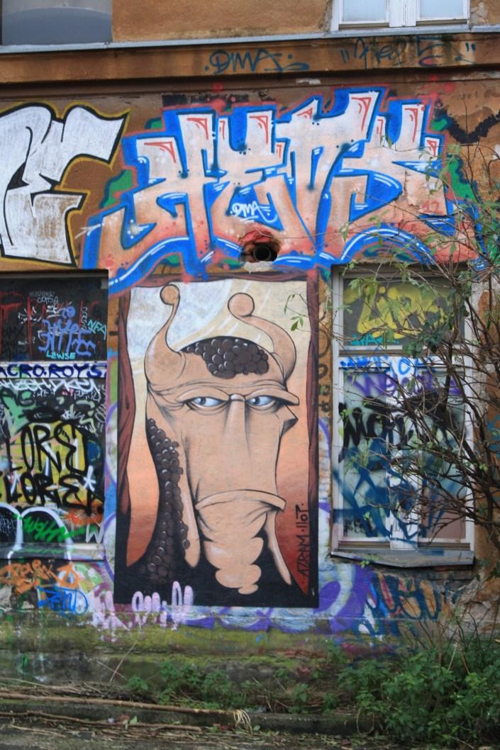 The Streets of Ljubljana are Covered in Graffiti