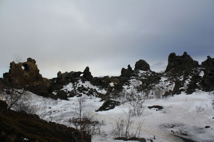 The Trolls of the Dimmuborgir Lava Fields