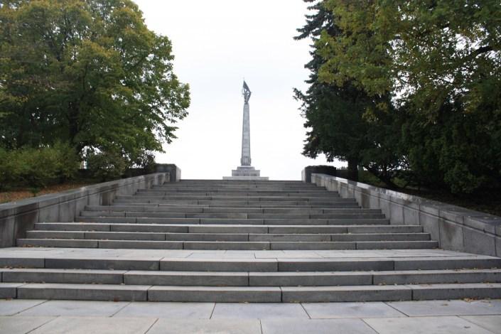 'Not one step back!'- Slavin, Bratislava's memorial to liberation or oppression?