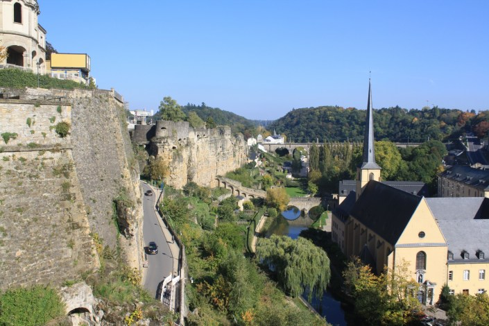 I Went To Luxembourg and Found a Rocky Fortress