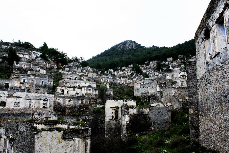 The ghost town of Kayakoy.