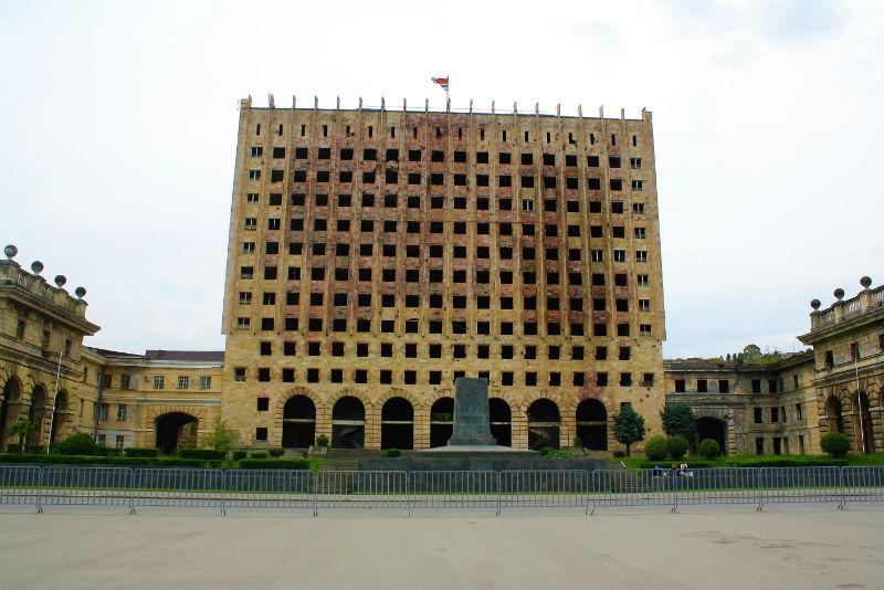 Sukhumi Government Building Abkhazia