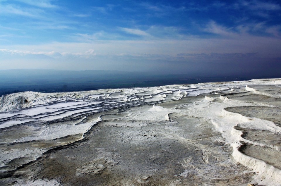The Strange Travertines Of Pamukkale