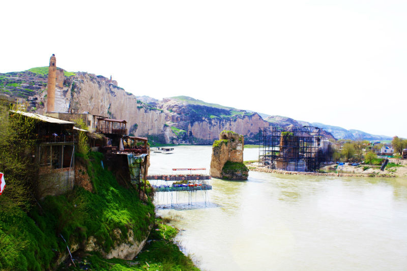 Travel to Hasankeyf the twelve thousand year old town which will soon be flooded