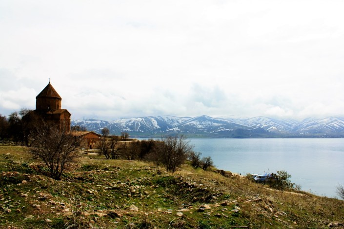 Akdamar Island And The Last Armenian Church Of Lake Van