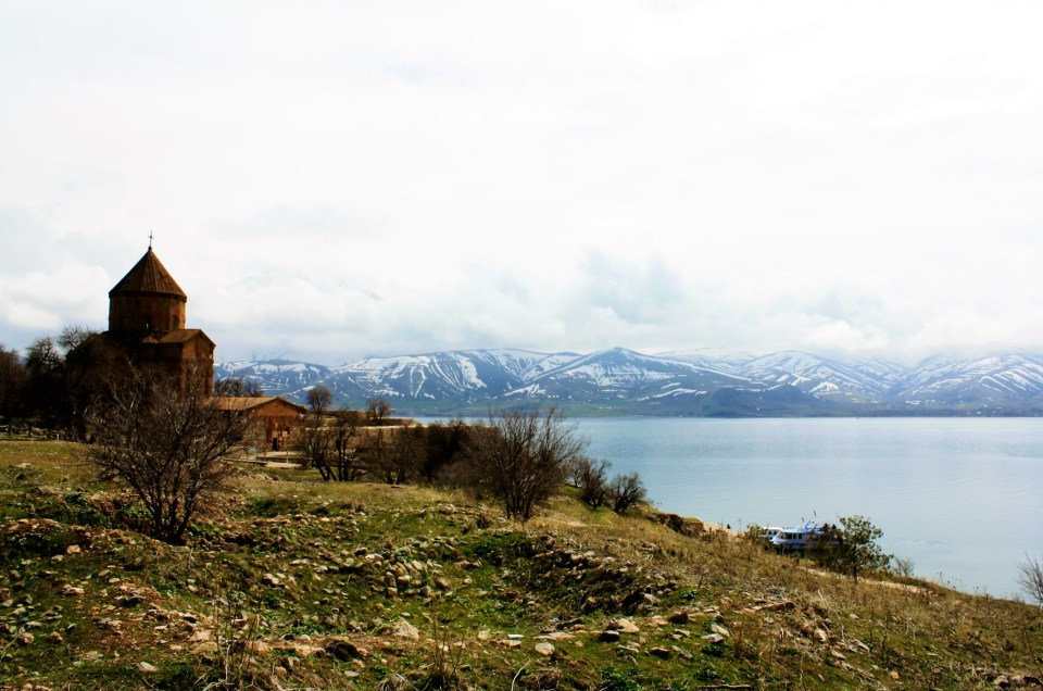 Akdamar Island And The Last Armenian Church Of Lake Van
