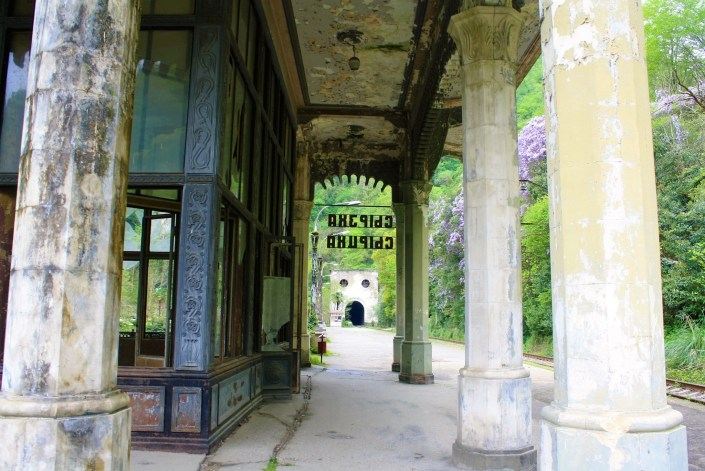 Abkhazia's Abandoned Psyrtskha Railway Station