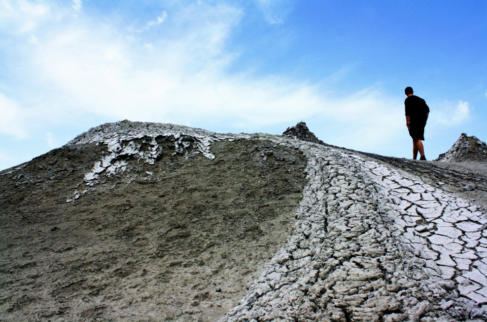 The Mud Volcanoes Of Azerbaijan
