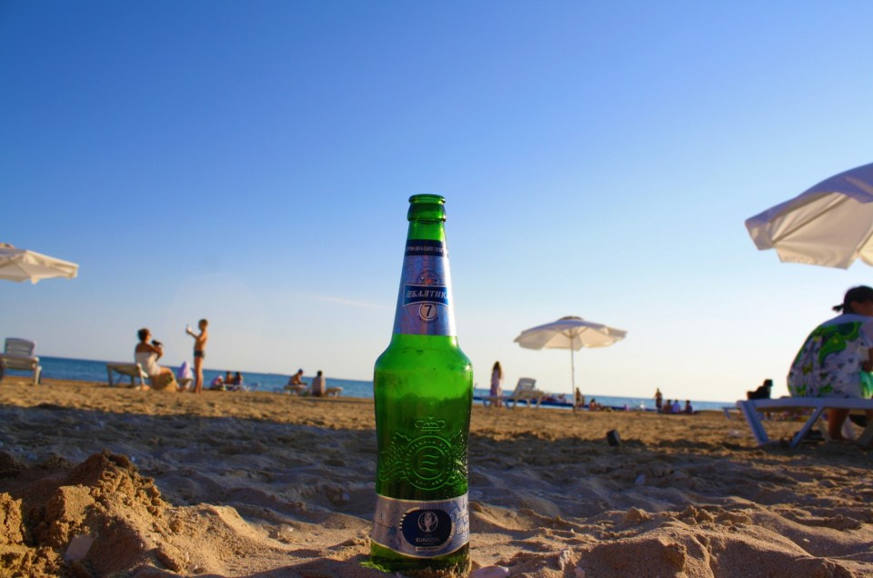 A Kazakhstan Beach Holiday