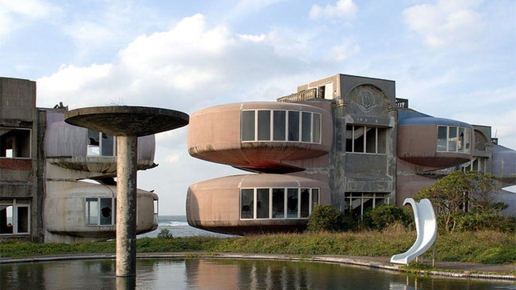 Sanzhi UFO Houses Taipei Taiwan