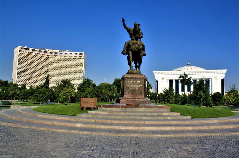 A Tourist In Tashkent